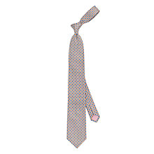 Buy Thomas Pink Pasmore Woven Silk Tie, Blue/Orange Online at johnlewis.com