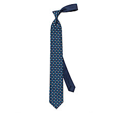 Buy Thomas Pink Parrot Print Silk Tie, Blue/Multi Online at johnlewis.com