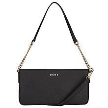 Buy DKNY Bryant Park Chain Strap Across Body Bag, Black Online at johnlewis.com