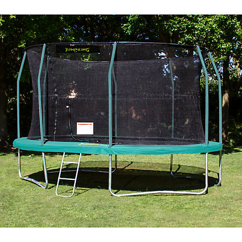 buy jumpking 9 x 13ft oval trampoline online at