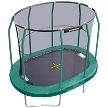 Buy JumpKing 7 x 10ft Oval Trampoline Online at johnlewis.com