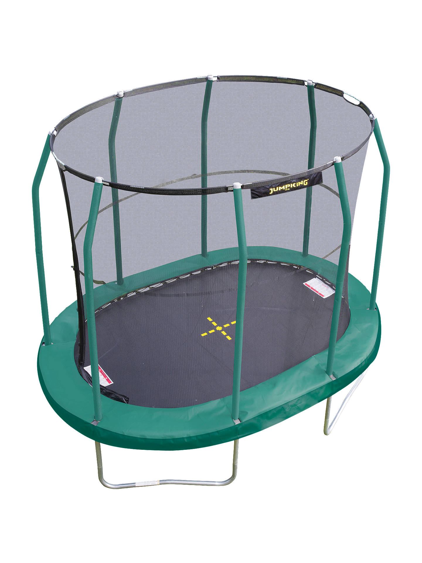 JumpKing 7 x 10ft Oval Trampoline at John Lewis & Partners