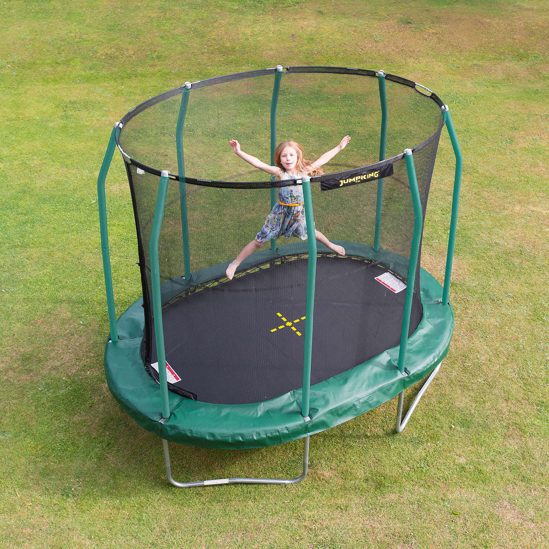 Trampoline Net For 17ft X 15ft Oval: JumpKing 7 X 10ft Oval Trampoline At John Lewis
