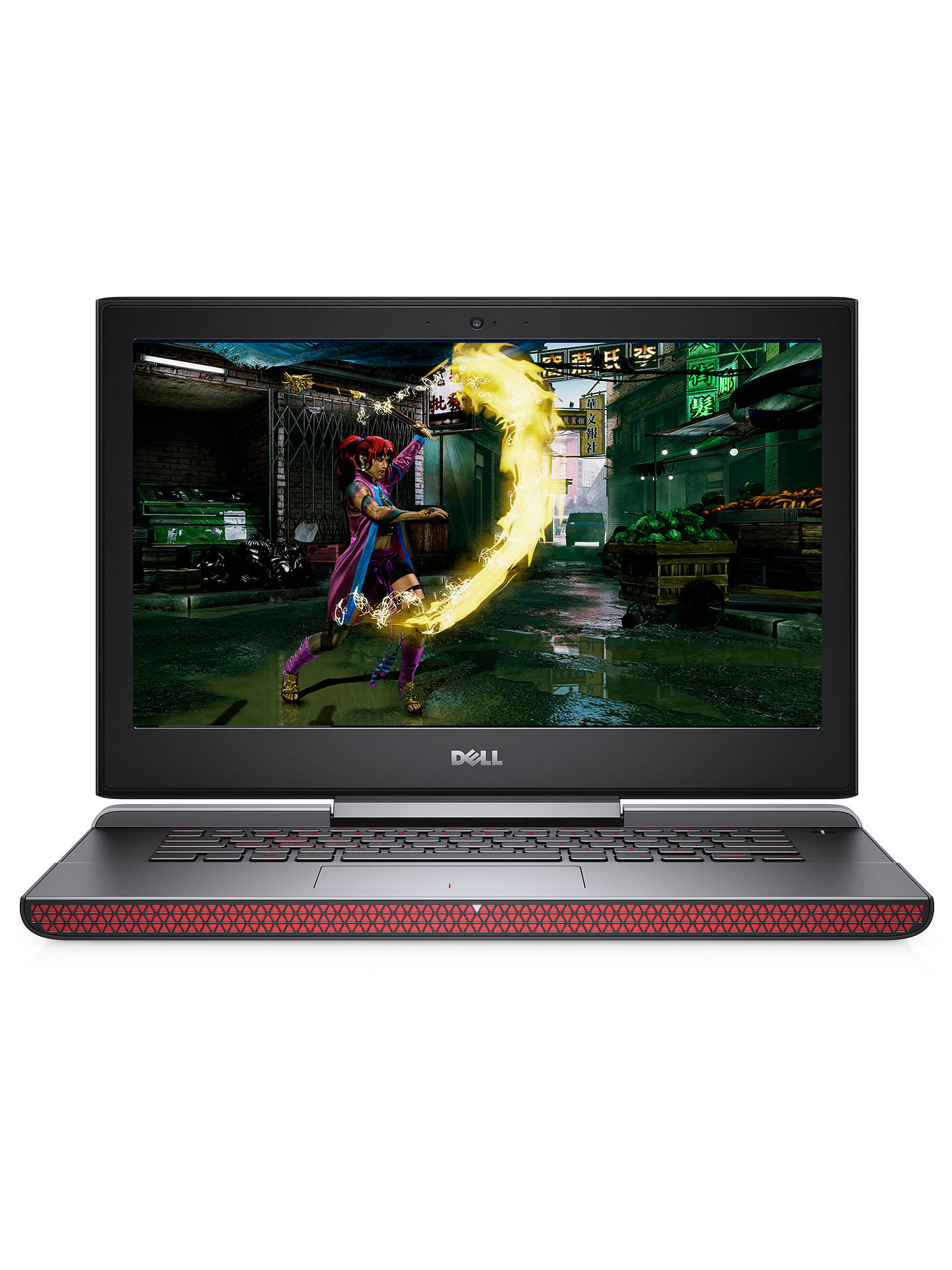 "BuyDell Inspiron 15 Gaming Laptop, Intel Core i7, 16GB RAM, 512GB SSD, NVIDIA GTX 1050Ti, 15.6"", Black Online at johnlewis.com"