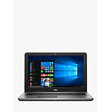 "Buy Dell Inspiron 15 5000 Series Laptop, AMD A10, 8GB RAM, 1TB HDD, AMD Radeon R7, 15.6"" Online at johnlewis.com"