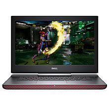"Buy Dell Inspiron 15 Gaming Laptop, Intel Core i7, 16GB RAM, 1TB HDD + 256GB SSD, NVIDIA GTX 1050Ti, 15.6"", Black Online at johnlewis.com"