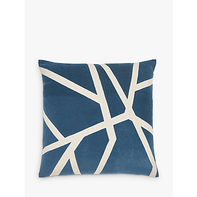 Harlequin Momentum Sumi Cushion, Blue