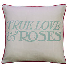 Buy Emma Bridgewater True Love & Roses Cushion Online at johnlewis.com
