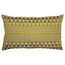 Buy Niki Jones Embroidered Isosceles Cushion Online at johnlewis.com