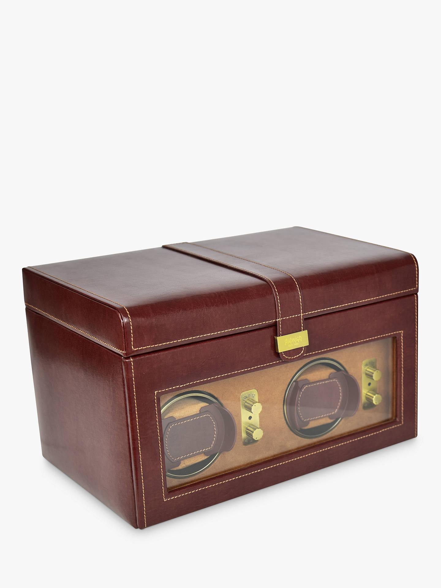 Dulwich Designs Heritage Double Watch Winder Box At John Lewis