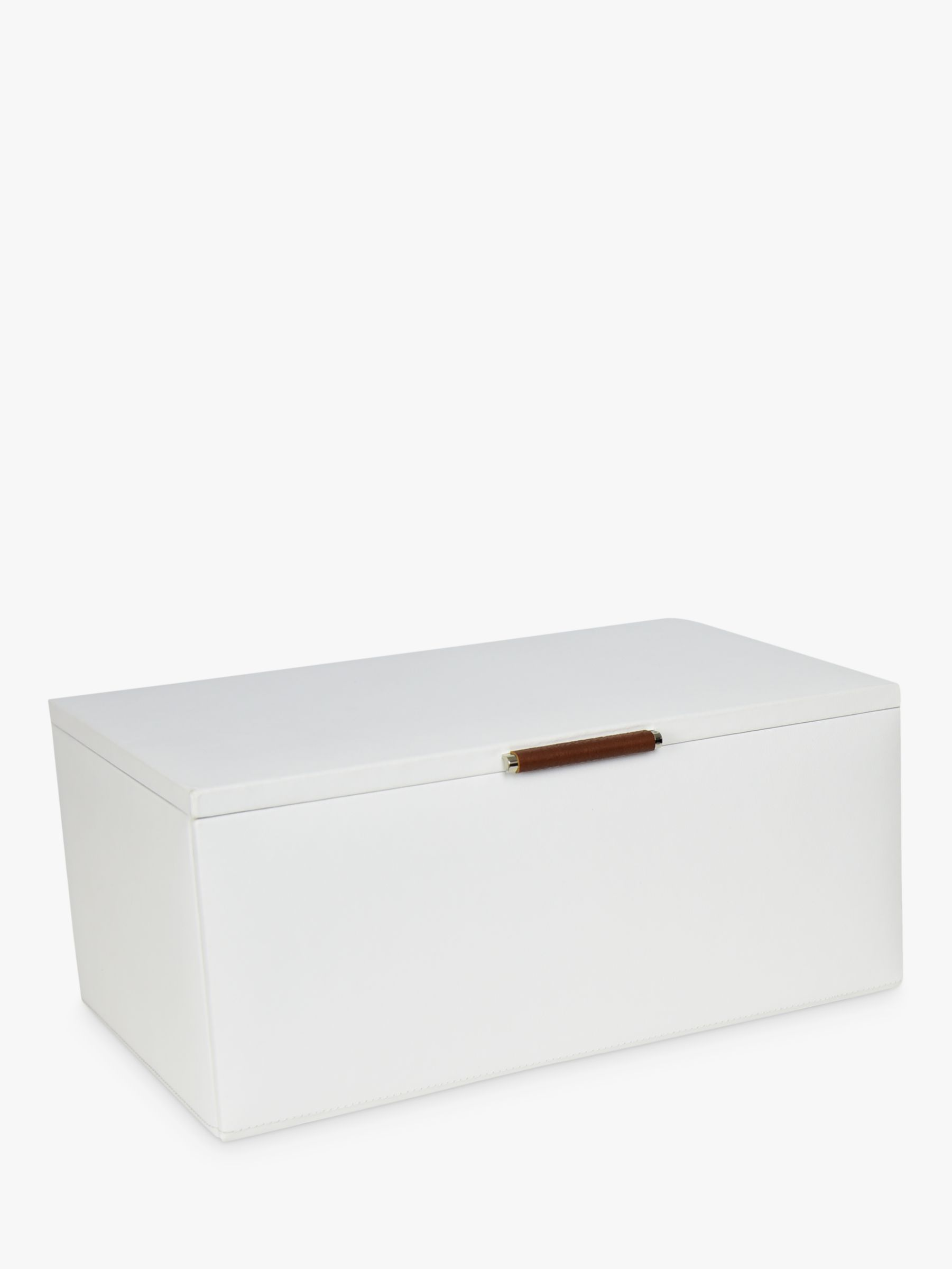 Dulwich Designs Dulwich Designs Malmo Extra Large Jewellery Box, White