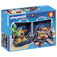 Buy Playmobil Pirates 5347 Take Along Pirates Chest Online at johnlewis.com