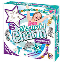 Buy Craft Box Make Your Own Mermaid Charm Jewellery Set Online at johnlewis.com