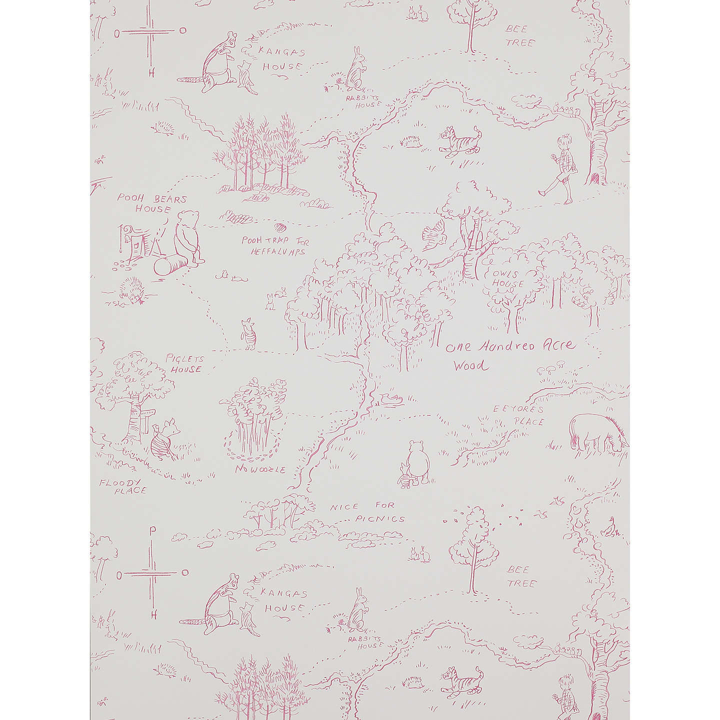 Jane churchill one hundred acre wallpaper at john lewis buyjane churchill one hundred acre wallpaper j129w 01 online at johnlewis gumiabroncs Image collections
