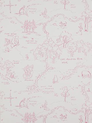 Jane Churchill One Hundred Acre Wallpaper