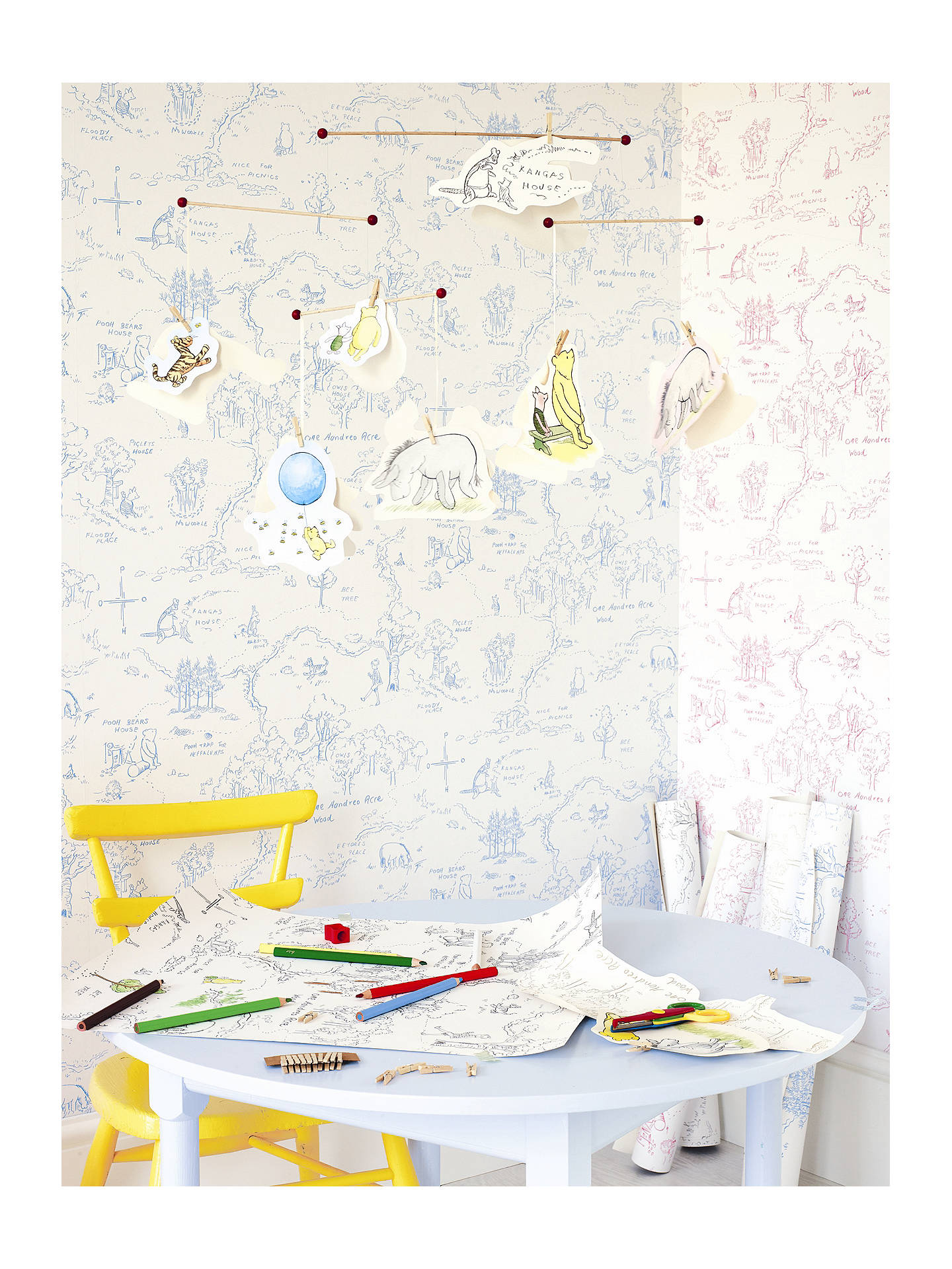 Buy Jane Churchill One Hundred Acre Wallpaper, J129W-01 Online at johnlewis.com