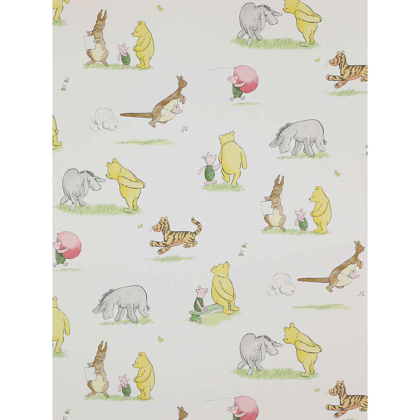 Jane churchill winnie the pooh friends wallpaper at john lewis buyjane churchill winnie the pooh friends wallpaper j127w 01 online at johnlewis gumiabroncs Image collections