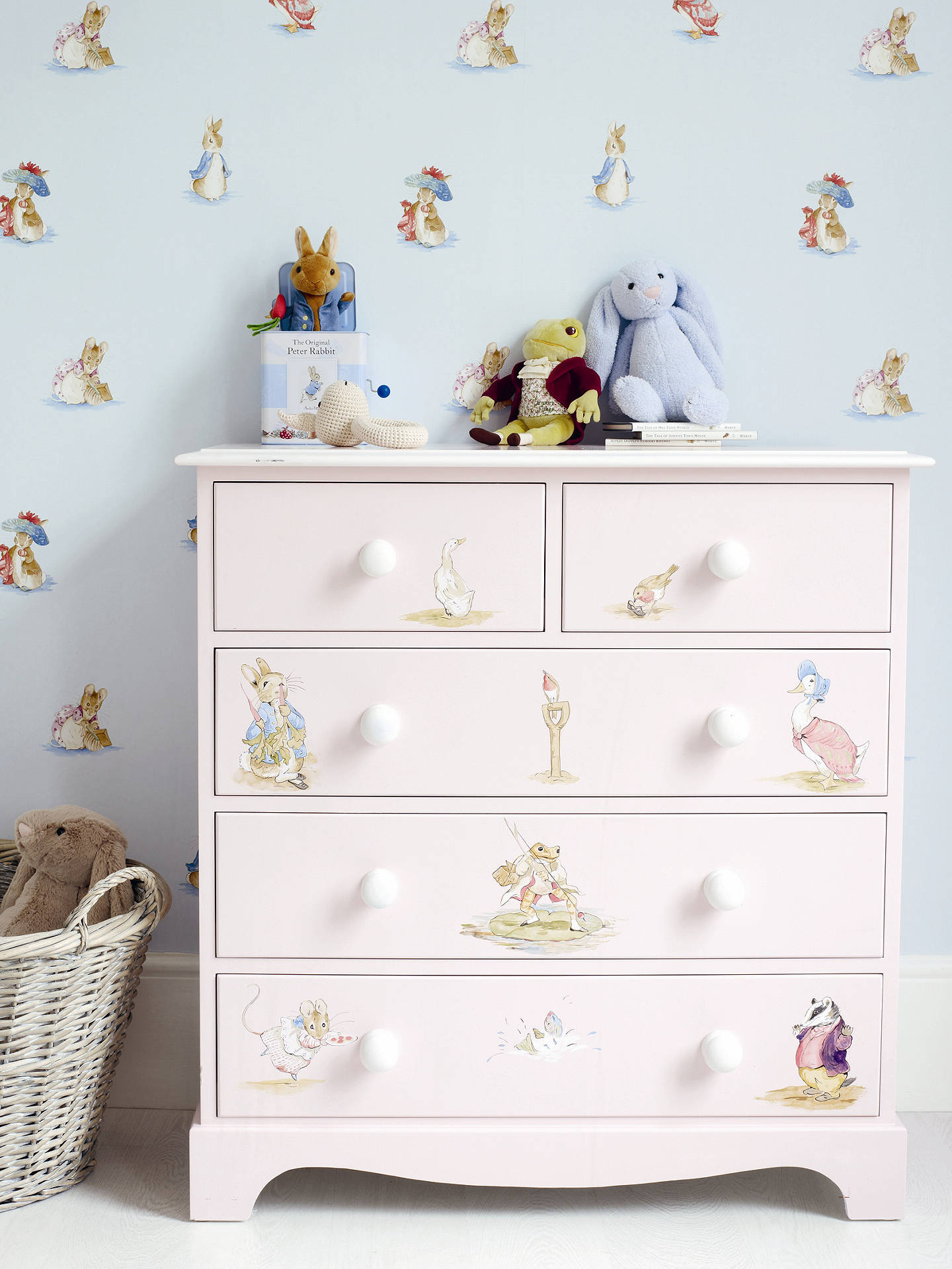Jane Churchill Beatrix Potter Wallpaper