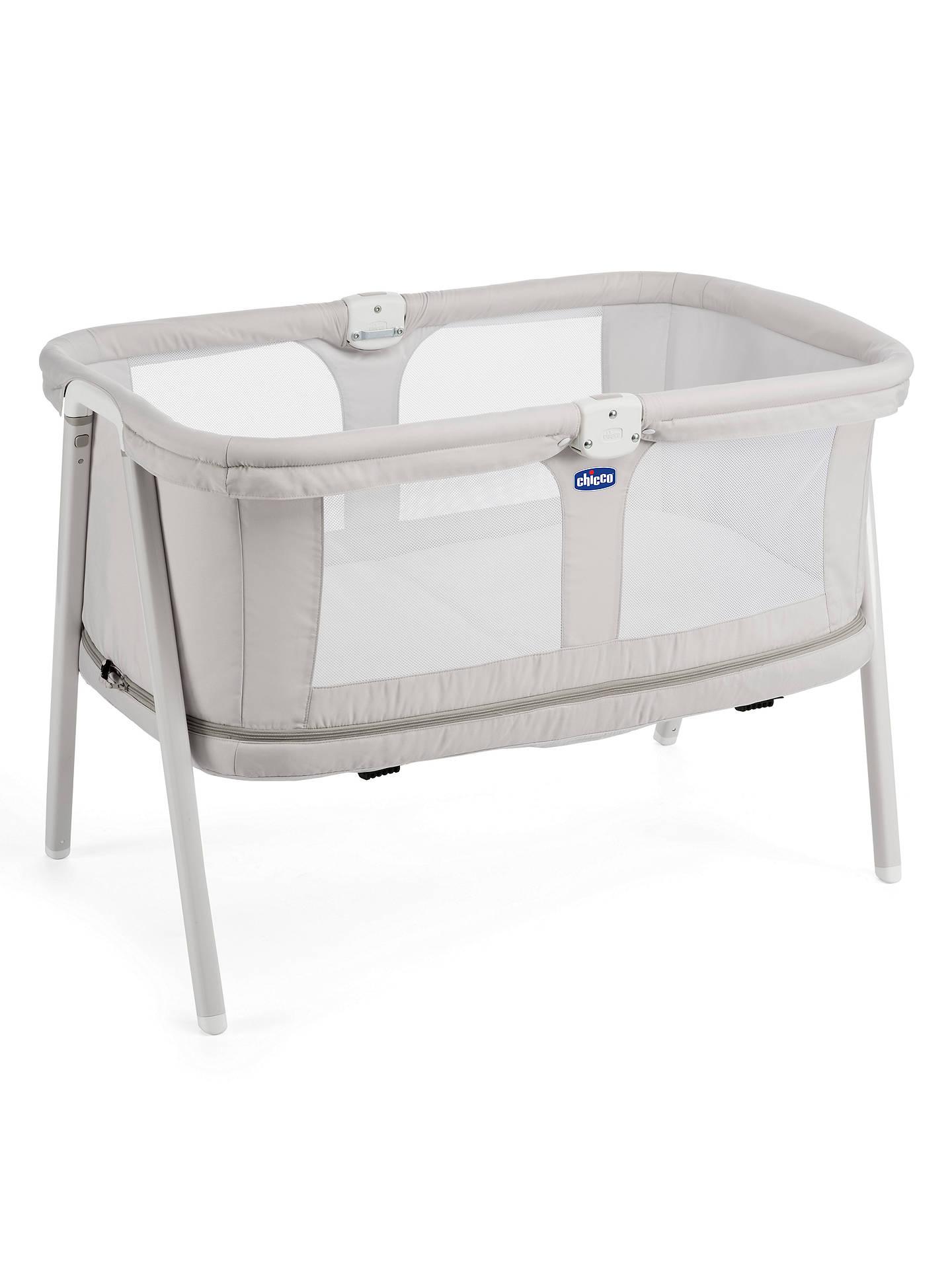 Chicco Lullago Zip Travel Crib Grey At John Lewis Partners
