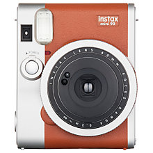Buy Fujifilm Instax Mini 90 Instant Camera with 10 Shots of Film, Built-In Flash & Hand Strap Online at johnlewis.com