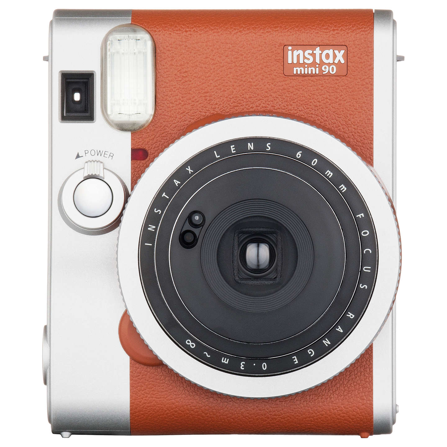 Fujifilm Instax Mini 90 Instant Camera with 10 Shots of Film, Built ...