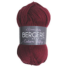 Buy Bergere De France Coton Fifty 4 ply Cotton Mix Yarn, 50g Online at johnlewis.com
