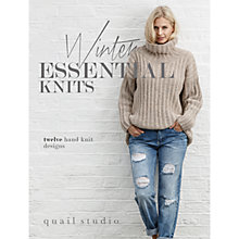 Buy Rowan Winter Essential Knits Knitting Pattern Book by Quail Studio Online at johnlewis.com