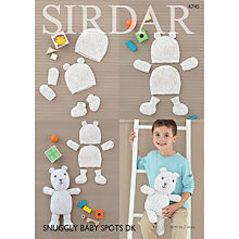 Buy Sirdar Snuggly Spots DK Baby Accessories And Toy Knitting Pattern, 4745 Online at johnlewis.com