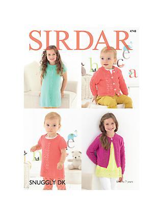 Sirdar Knitting Crochet Patterns John Lewis Partners