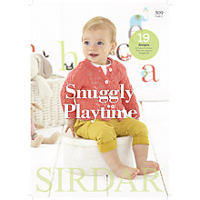 Buy Sirdar Snuggly Playtime Baby Knitting Pattern Brochure, 509 Online at johnlewis.com