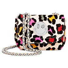 Buy Hill and Friends Happy Tweency Chain Shoulder Bag, Rainbow Leopard Online at johnlewis.com