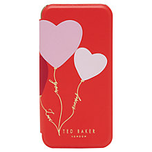 Buy Ted Baker Frany iPhone Case, Orange Online at johnlewis.com