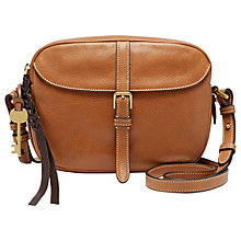 Buy Fossil Kendall Leather Across Body Bag Online at johnlewis.com