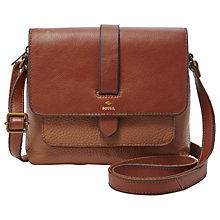 Buy Fossil Kinley Leather Cross Body Bag Online at johnlewis.com