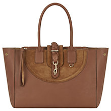 Buy Hill and Friends Lucky Leather Tote Bag, Gingernut Online at johnlewis.com