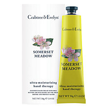 Buy Crabtree & Evelyn Somerset Meadow Hand Therapy, 50g Online at johnlewis.com