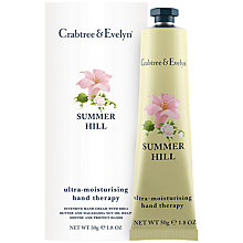 Buy Crabtree & Evelyn Summer Hill Hand Therapy, 50g Online at johnlewis.com