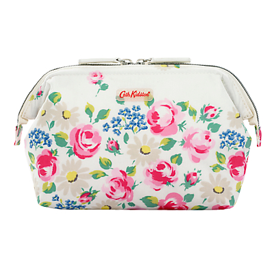 Cath Kidston Daisies And Roses Border Frame Cosmetic Bag, Multi