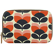 Buy Orla Kiely Flower Stripe Make-Up Brush Case Online at johnlewis.com
