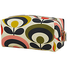 Buy Orla Kiely Seventies Flower Large Cosmetic Bag Online at johnlewis.com
