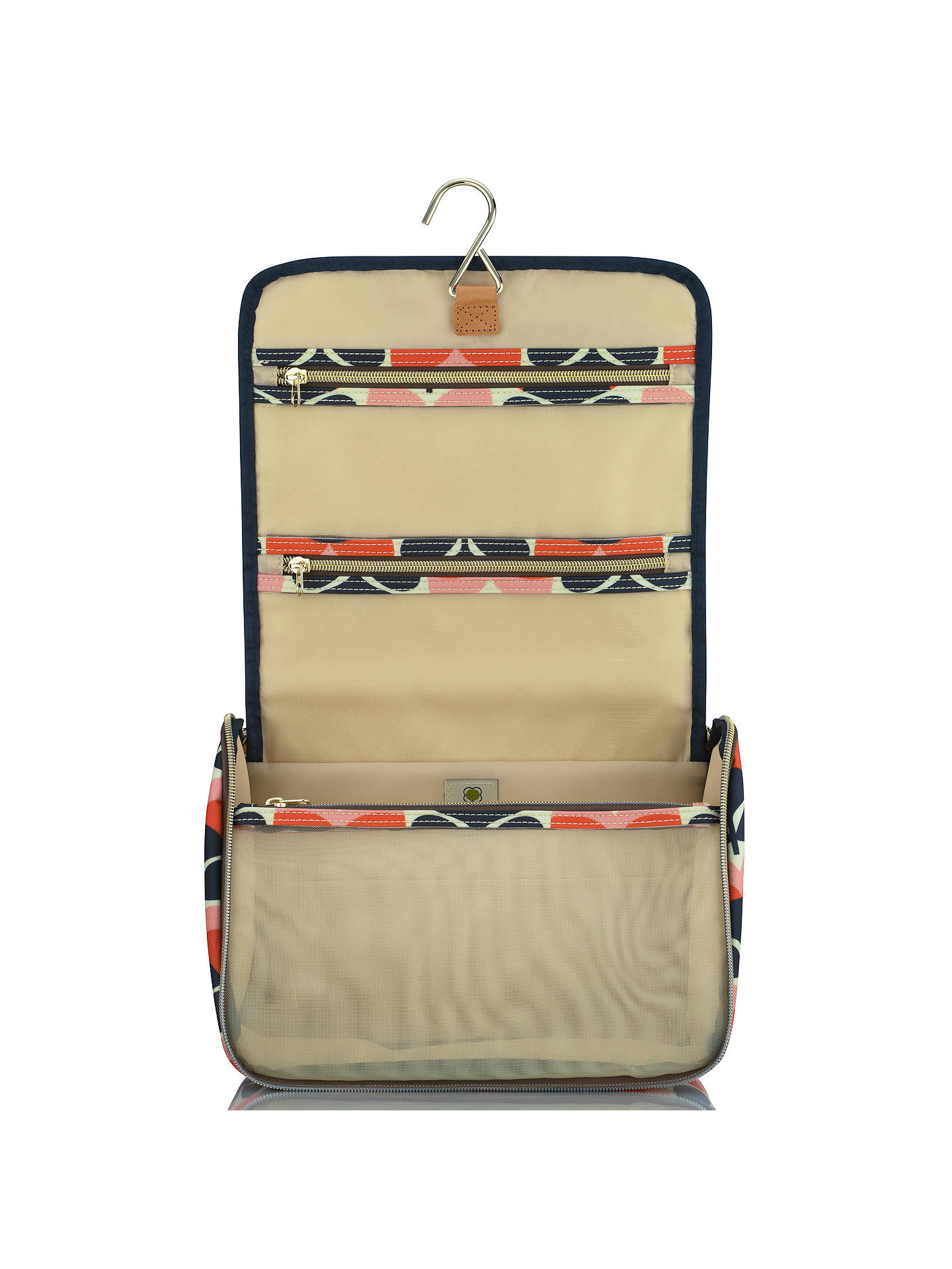 BuyOrla Kiely Flower Stripe Hanging Wash Bag Online at johnlewis.com