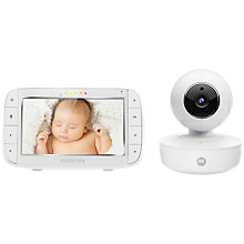 Buy Motorola MBP50 Digital Video Baby Monitor Online at johnlewis.com