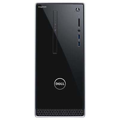 Dell Inspiron 3000 Series Desktop PC, Intel Core i3, 8GB RAM, 1TB, Black