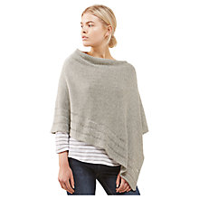 Buy Jigsaw Ladder Stitch Edge Poncho Online at johnlewis.com