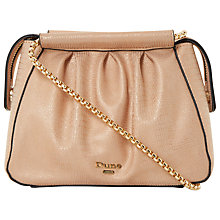 Buy Dune Ehannah Shoulder Bag, Rose Gold Online at johnlewis.com
