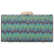 Buy Dune Bziggy Beaded Box Clutch Bag Online at johnlewis.com