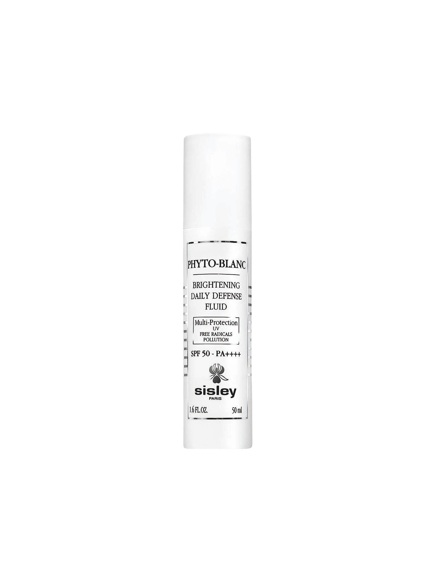 Buy Sisley Phyto-Blanc Brightening Daily Defence Fluid SPF 50, 50ml Online at johnlewis.com