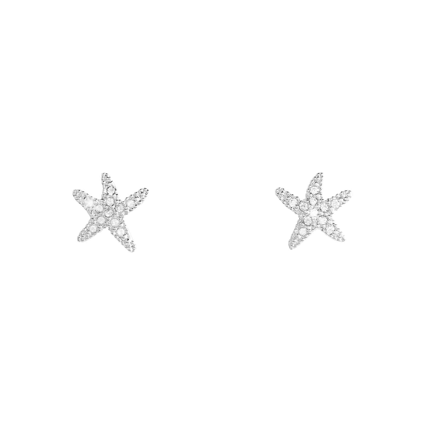 products stud prices blue cute starfish sterling earrings earr aeravida silver crystal compare shopping