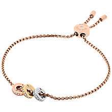 Buy Michael Kors Grommet Charm Chain Bracelet, Multi Online at johnlewis.com