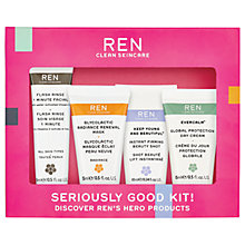 Buy REN Seriously Good Skincare Kit Online at johnlewis.com